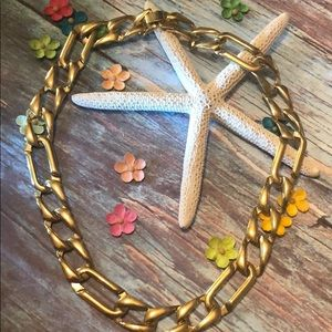 Jewelry - Link Gold Tone Necklace